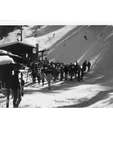 Kratka Ridge Ski Area, Single Chairlift Loading Station