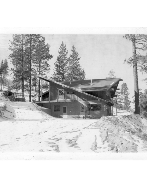 Kratka Ridge Ski Area Upper Lodge, Built by Randy Zimmer and owners