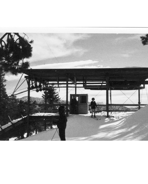 Kratka Ridge Ski Area, Upper Terminal, Unloadng Station