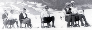 Timberline-portable-lift-chairs-on-ground-1950s