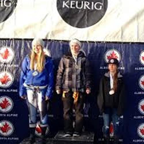 Elyse Brandt of Spokane a finish 2nd in the Keurig Cup